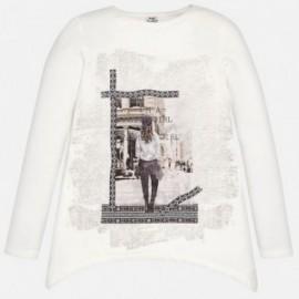 Mayoral 7406-37 Bluza spacerująca dziewczyn kolor Len