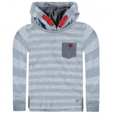 Kanz bluza 1713431-1 kolor jasny szary