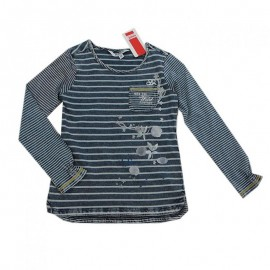 Kanz bluzka 1713051-1 kolor niebieski