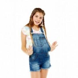Losan 714-9000AB-741 szorty ogrodniczki jeans kolor granat