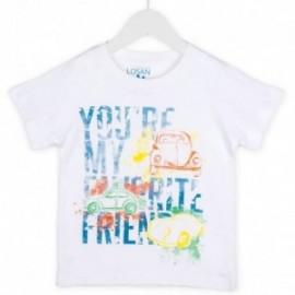Losan 715-1301AC-001 t-shirt kolor biały