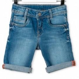 Losan 715-9663AC-773 szorty jeans kolor jasny granat