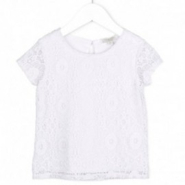 Losan 716-1790AD-001 bluzka koronka kolor biały
