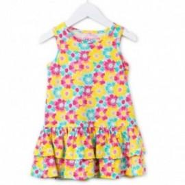 Losan 716-7067AD-142 sukienka kolor fuksja