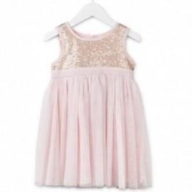 Losan 716-7783AD-715 sukienka tiul cekiny kolor róż
