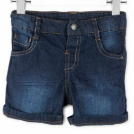 Losan 717-9660AC-741 szorty jeans kolor granat
