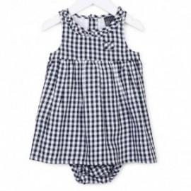 Losan 718-7020AD-378 sukienka kolor biały/czarny
