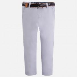 Mayoral 3503-78 Spodnie z paskiem kolor Szary