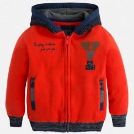 Mayoral 4461-84 Bluza plusz kolor Czerwony