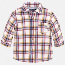 Mayoral 2144-31 Koszula d/r krata kolor Wiśnia
