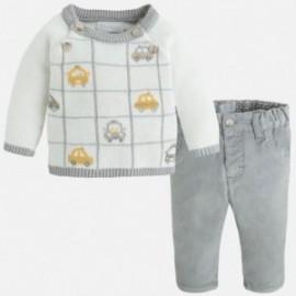 Mayoral 2538-17 Komplet spodnie dł. i sweter kolor Vapor