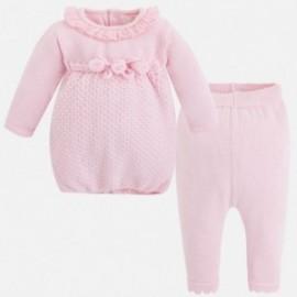 Mayoral 2816-24 Komplet sukienka trykot kolor Róż.baby