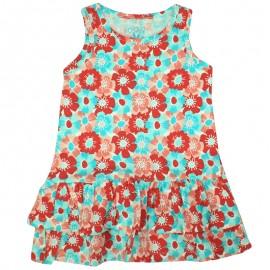 Losan 716-7067AD-039 sukienka kolor turkus