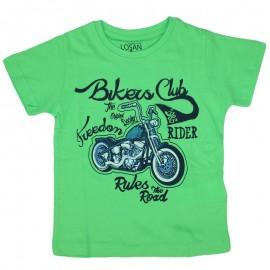 Losan 715-1301AC-021 t-shirt kolor biał zielony