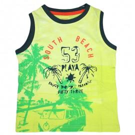 Losan 715-1207AC-020 t-shirt ramiączka kolor żółty