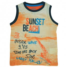 Losan 715-1207AC-074 t-shirt ramiączka kolor pomarańcz
