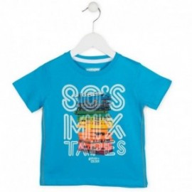 Losan 715-1025AC-663 t-shirt kolor turkus