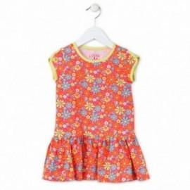 Losan 716-7041AD-059 sukienka kolor pomarańcz