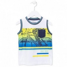 Losan 715-1015AC-001 t-shirt kolor biały
