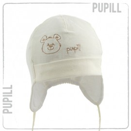 Pupil czapka small 6 kolor krem