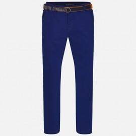 Mayoral 6503-32 Spodnie klasyczne z paskiem kolor Granatowy