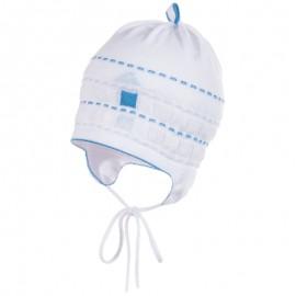 Jamiks JW17071-3 ALFIE czapka kolor biały/niebieski