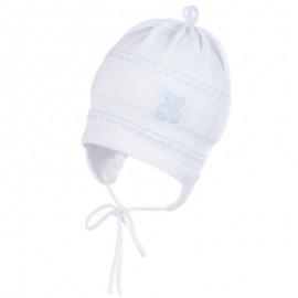 Jamiks JW17027-1 BAMBINO czapka kolor biały/błękit