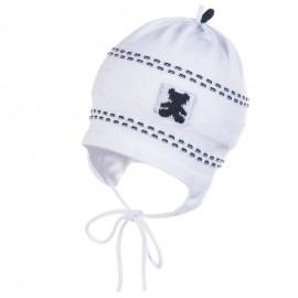 Jamiks JW17027-2 BAMBINO czapka kolor biały/dżins