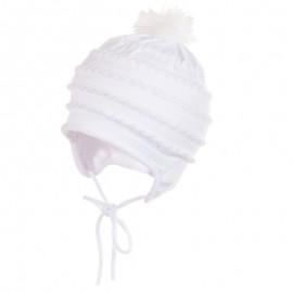 Jamiks JW17062-1 LUCIA czapka kolor biały