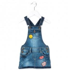 Losan 716-7064ad spódniczka jeans kolor niebieski