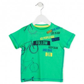Losan 715-1014AC t-shirt kolor zielony