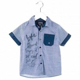 Losan 715-3002AC koszula kolor niebieski