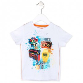 Losan 715-1023AC t-shirt kolor biały