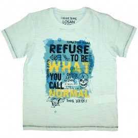 Losan 713-1007AA t-shirt kolor biały