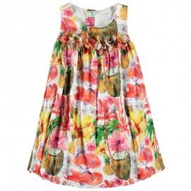 Sukienka KONIGSMUHLE 1760602-0003 żółty/czerwony