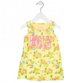 Losan 716-7014AD-790 sukienka kolor żółty