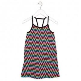 Losan 714-7045AB-063 sukienka kolor czarny