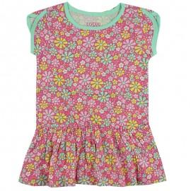 Losan 716-7041AD sukienka kolor róż