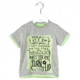 Losan 715-1007AC t-shirt kolor szary melanż