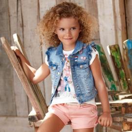 Mayoral 3457-5 Kamizelka jeans kolor Jeans