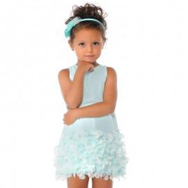 Mayoral 3945-84 Sukienka płatki kolor Mięta