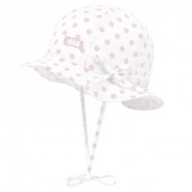 Doll 1732023715-2720 kapelusz sznurowany kolor biały/róż