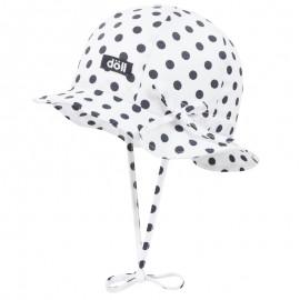 Doll 1732023715-3000 kapelusz sznurowany kolor biały/granat