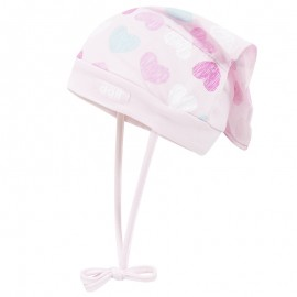 Doll 1732287617-2720 Czapka z chustką wiazana dżersej kolor róż