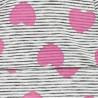 Doll 1738843629-1010 Czapka dzianinowa kolor biały/szary/fuksja