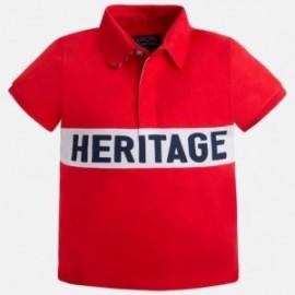 Mayoral 3115-74 Koszulka polo krót.rękaw kolor Hibiskus