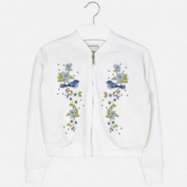 Mayoral 6463-29 Bluza haft kwiaty kolor Biały