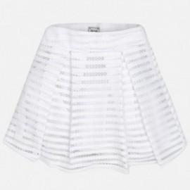 Mayoral 6905-28 Spódnica ażur kolor Biały