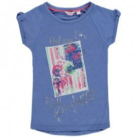 Pampolina 6764091-8128 Bluzka kolor niebieski