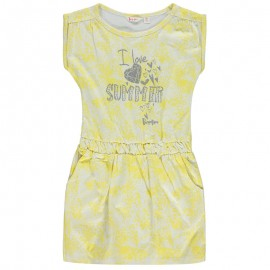 Pampolina 6761118-4018 Sukienka kolor żółty